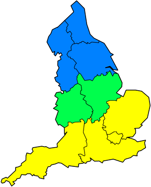 The North-South divide in the United Kingdom