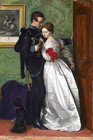 The Black Brunswicker by John Everett Millais,...