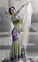 Mata Harien la danza de los siete velos