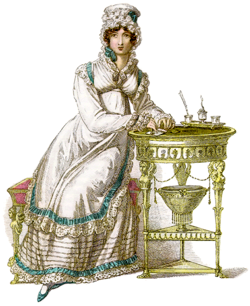 Morning Dress - Women's Regency Fashion & Dress - Philippa Jane Keyworth - Regency Romance Author