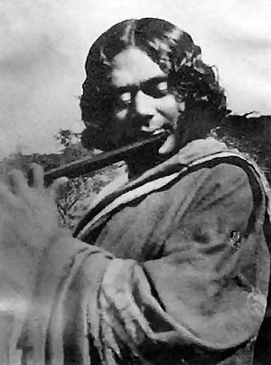Kazi Nazrul Islam, the revolutionary Bengali M...