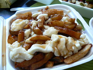 Montreal poutine from La Banquise in Montreal