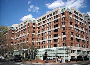 English: The Park Hyatt Washington, located at...