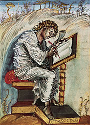 São Mateus, de um Evangelho do século IX