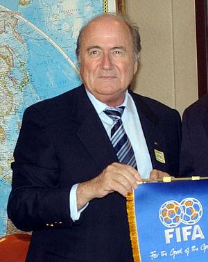 Joseph Blatter, FIFA's presidend