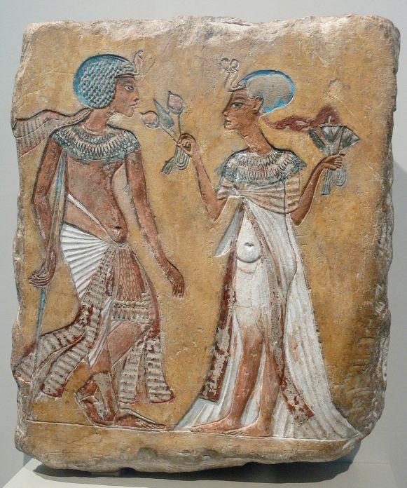 Spaziergang im Garten Amarna Berlin