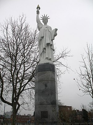 Replica of the Statue of Liberty, Leicester UK