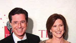 and his wife at the Time 100 most influential ...
