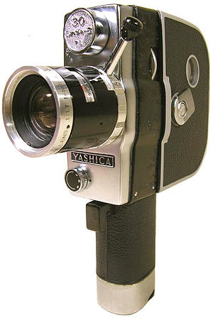 Silent Single 8 Movie Camera