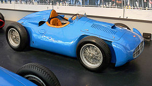 Deutsch: Bugatti Monoplace GP 251 (1955) im Mu...