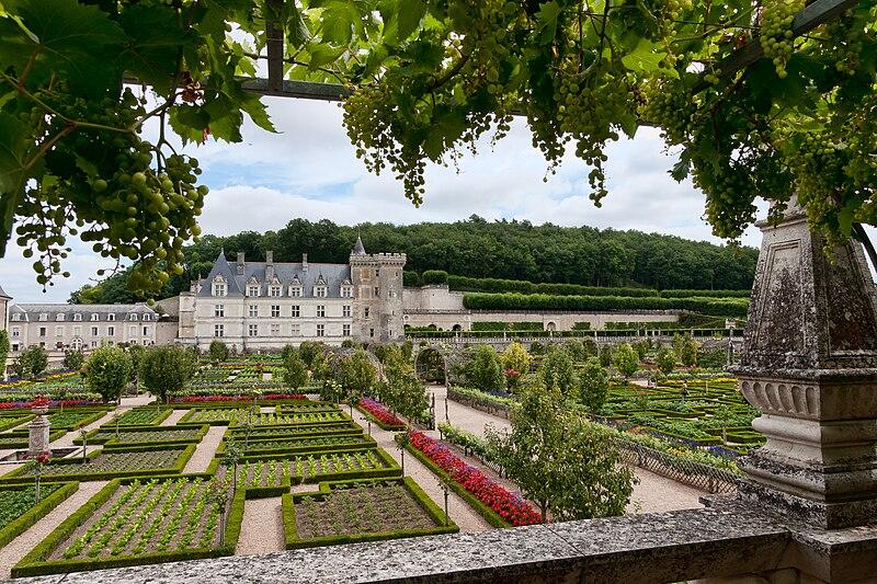 Chateau-Villandry-VueGenerale-Jardins