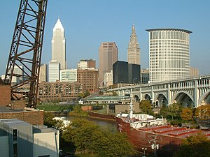 Downtown Cleveland from the Superior Viaduct