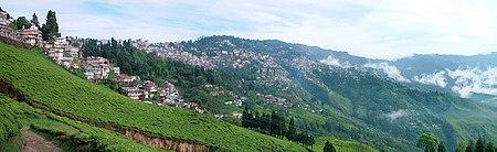 Vista de Darjeeling