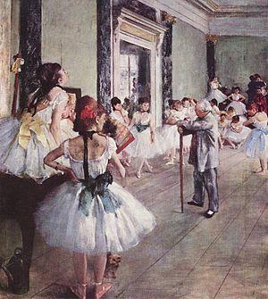 The Dance Class (La Classe de Danse),1873–1876...
