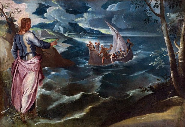 """Christ at the Sea of Galilee"" by Tintoretto"