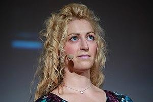 English: Game designer and author Jane McGonig...