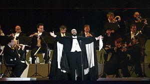 Português: Luciano Pavarotti