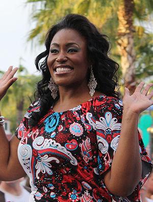 Mandisa, finalist on American Idol.