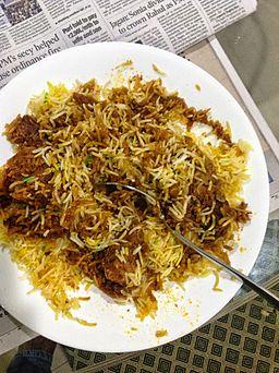 Mutton Biryani, Bombay Style