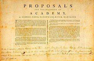 English: The proposal to establish an academy ...