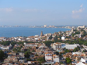 View of Puerto Vallarta