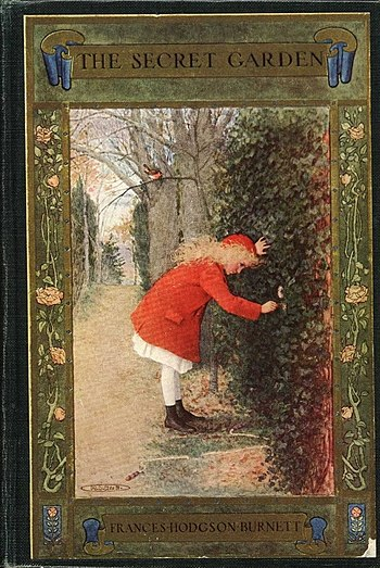 Cover of a 1911 publication of The Secret Garden
