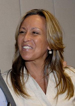 Português: A secretária de Estado espanhola pa...