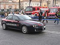 Alfa Romeo Veicolo in servizio di pronto intervento