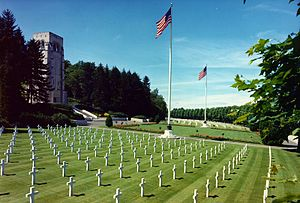 The World War I Aisne-Marne American Cemetery ...