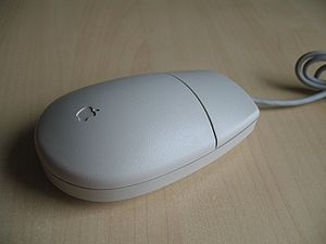 One button mouse