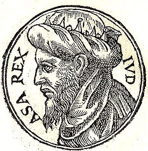 Asa of Judah was the third king of the Kingdom...