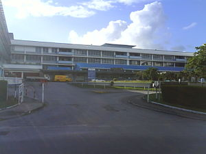 English: The Queen Elizabeth Hospital at Marti...