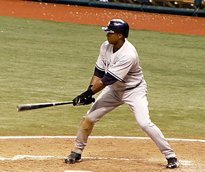 Bernie Williams at the plate, His Birthday, Se...