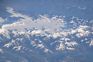 Campo de Hielo Norte, Chile. View heading NW.