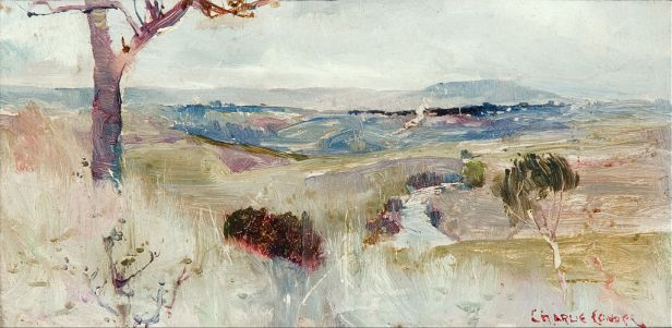 Charles Conder - Dandenongs from Heidelberg - Google Art Project