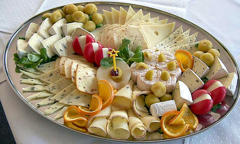 Ooh, a cheese platter! Fancy!