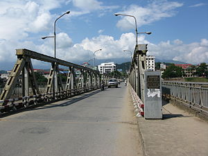 English: Cốc Lếu Bridge, Lào Cai City, Việt Nam