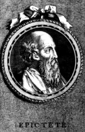 Epictetus, (Artist's Impression), 1st/2nd cent...