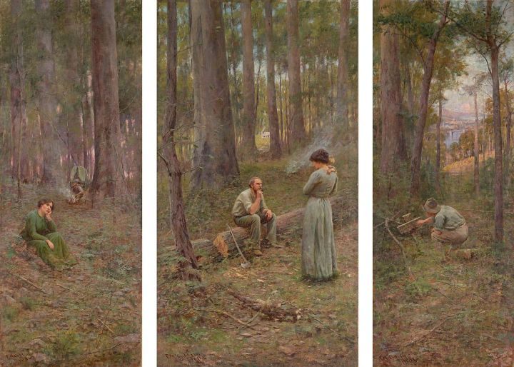 Frederick McCubbin - The pioneer - Google Art Project.jpg