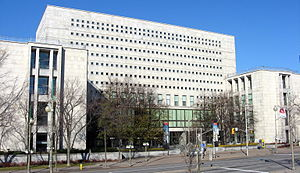The headquarters of Library and Archives Canad...