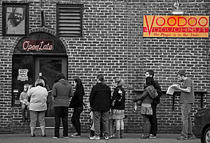 Voodoo Doughnut in Portland, Oregon.