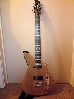 Eccleshall Scimitar electric guitar