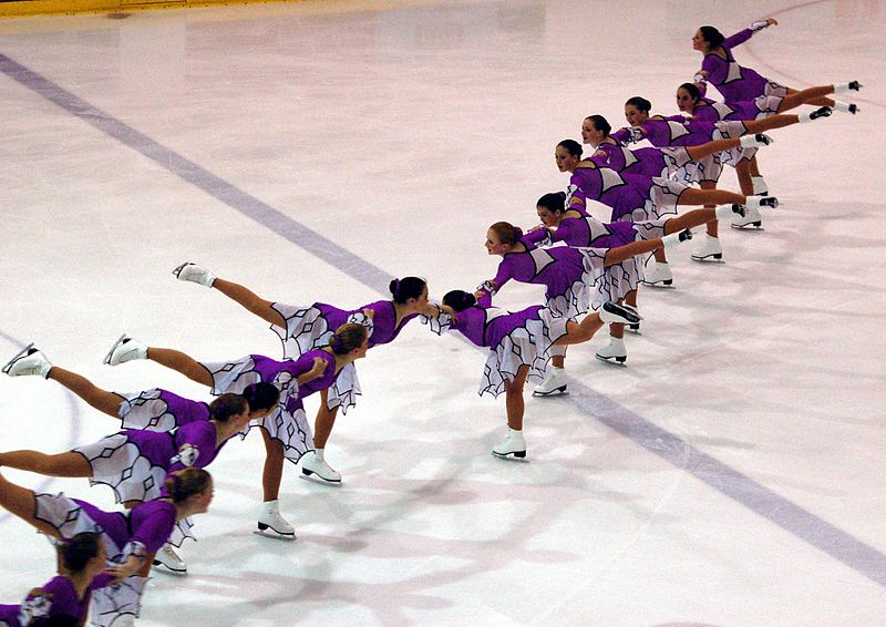 Patinage synchronisé