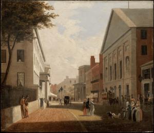 Tremont Street, Boston. about 1843. Philip Har...