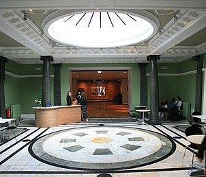 Entrance lobby of the Whitworth Art Gallery, M...