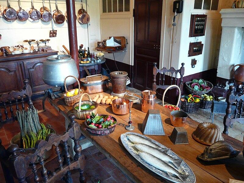 Chateau-de-montpoupon-cuisine
