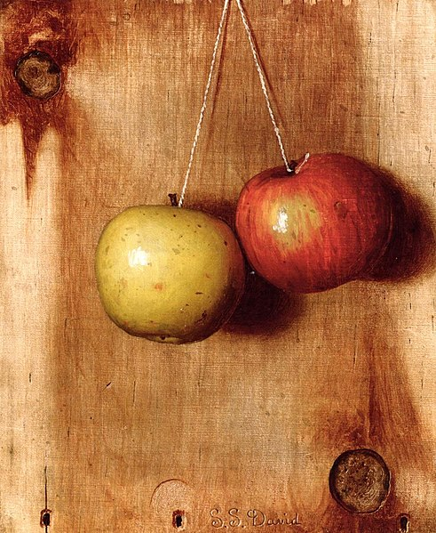 File:DeScott Evans Hanging Apples.jpg
