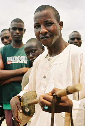 A member of the Hausa ethnic group of northern...