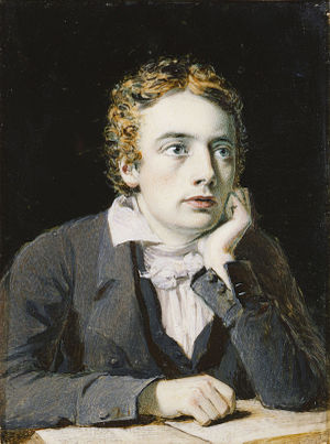 English: John Keats by Joseph Severn 1819. Oil...