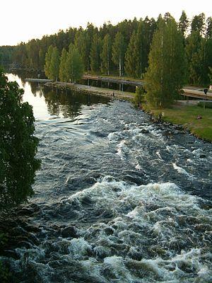 Karvionkoski rapids